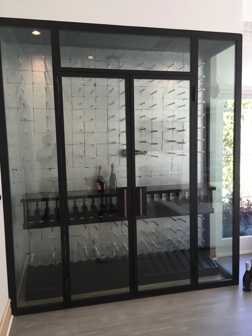 industrialluxe bespoke custom wine cabinet – beverly hills  - industrialluxe bespoke custom wine cabinet – beverly hills
